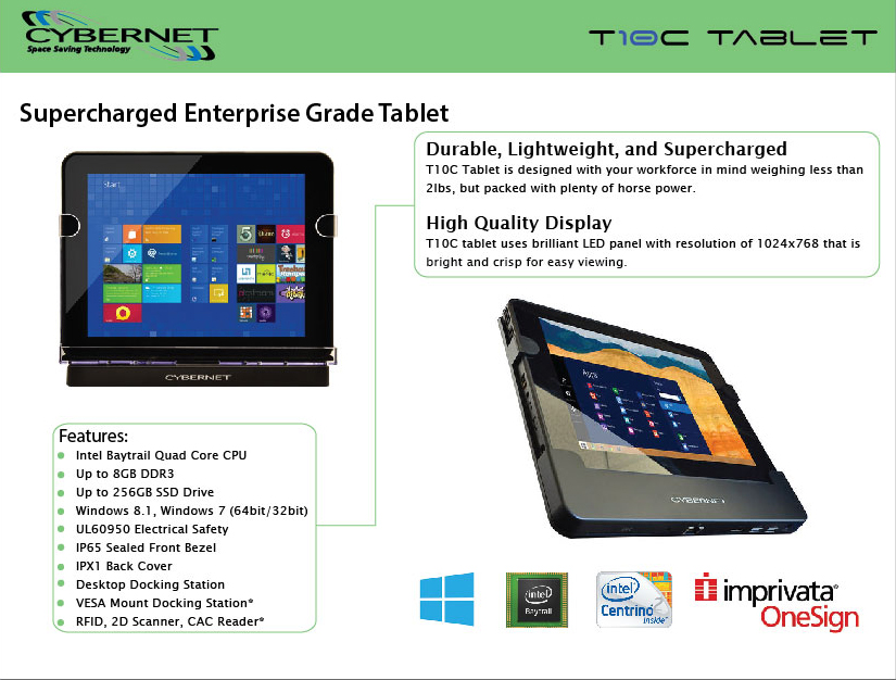 T10C Business Tablet