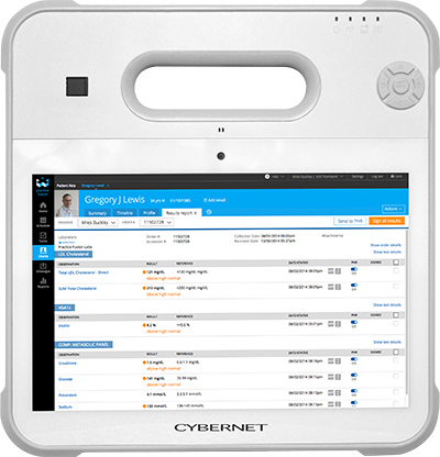 "Cybernet 10.1"" Medical Grade Windows Tablet Success Story"