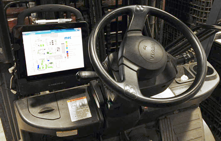 Enterprise Computer on Forklift