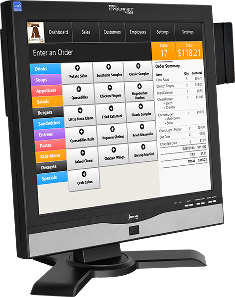 iPOS H19 All In One Enterprise POS System